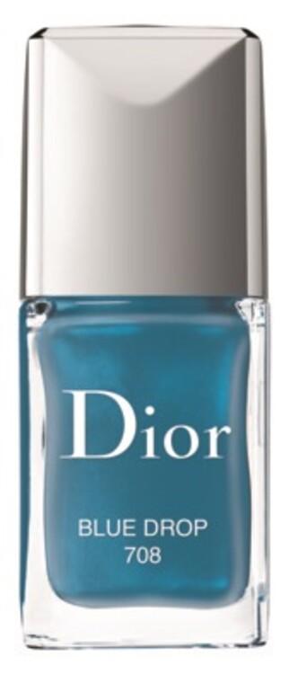 Лак для нігтів Dior Vernis №708 Blue Drop з літньої колекції макіяжу Wild Earth, Dior
