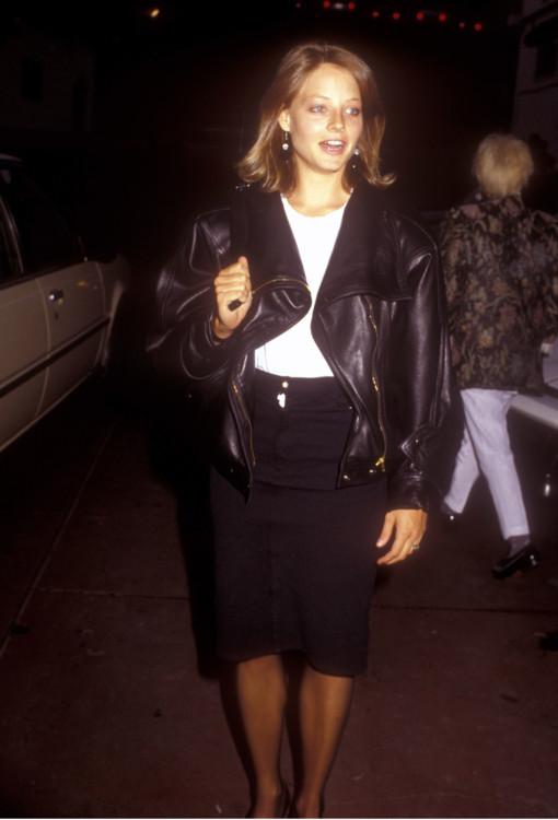 Джоди Фостер на концерте Eurythmics в 1986 году