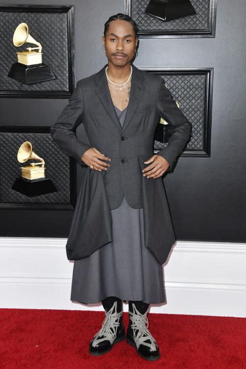 Стив Лейси на церемонии вручения премии «Грэмми», 2020
