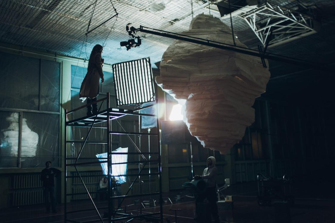Съемка клипа The Hardkiss «Антарктида»