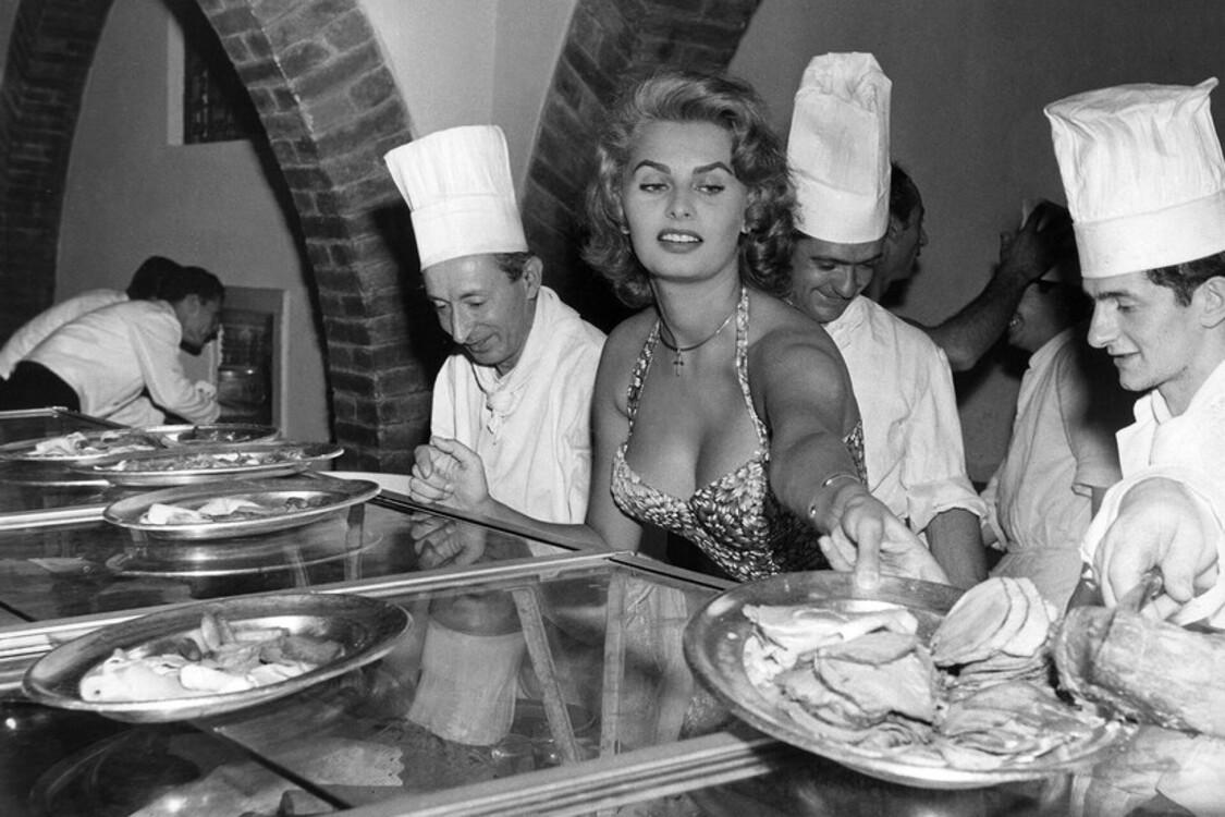 Софи Лорен, 1955