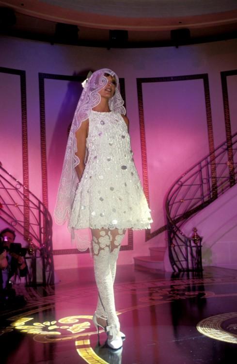 Versace Haute Couture осень-зима 1993