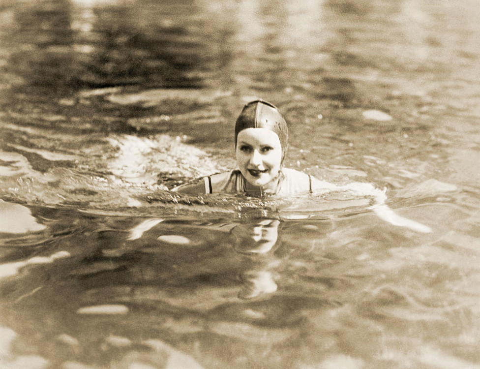 Грета Гарбо незабаром після переїзду до Лос-Анджелеса, середина 1920-х