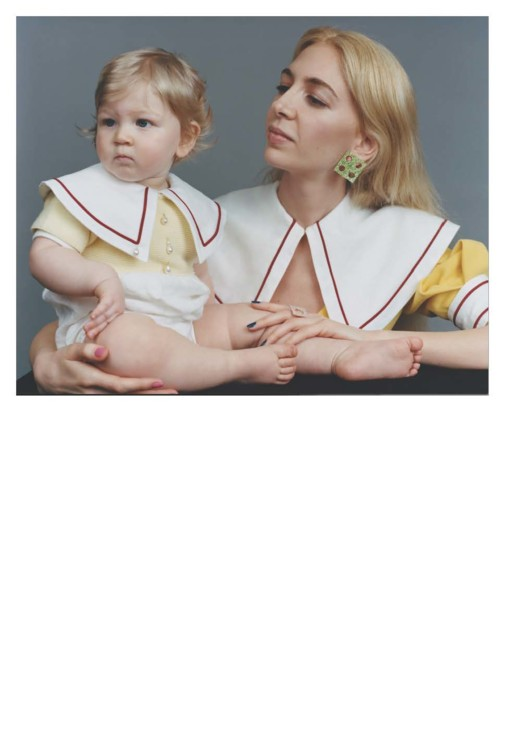 Сабина Гетти с дочерью Джин
