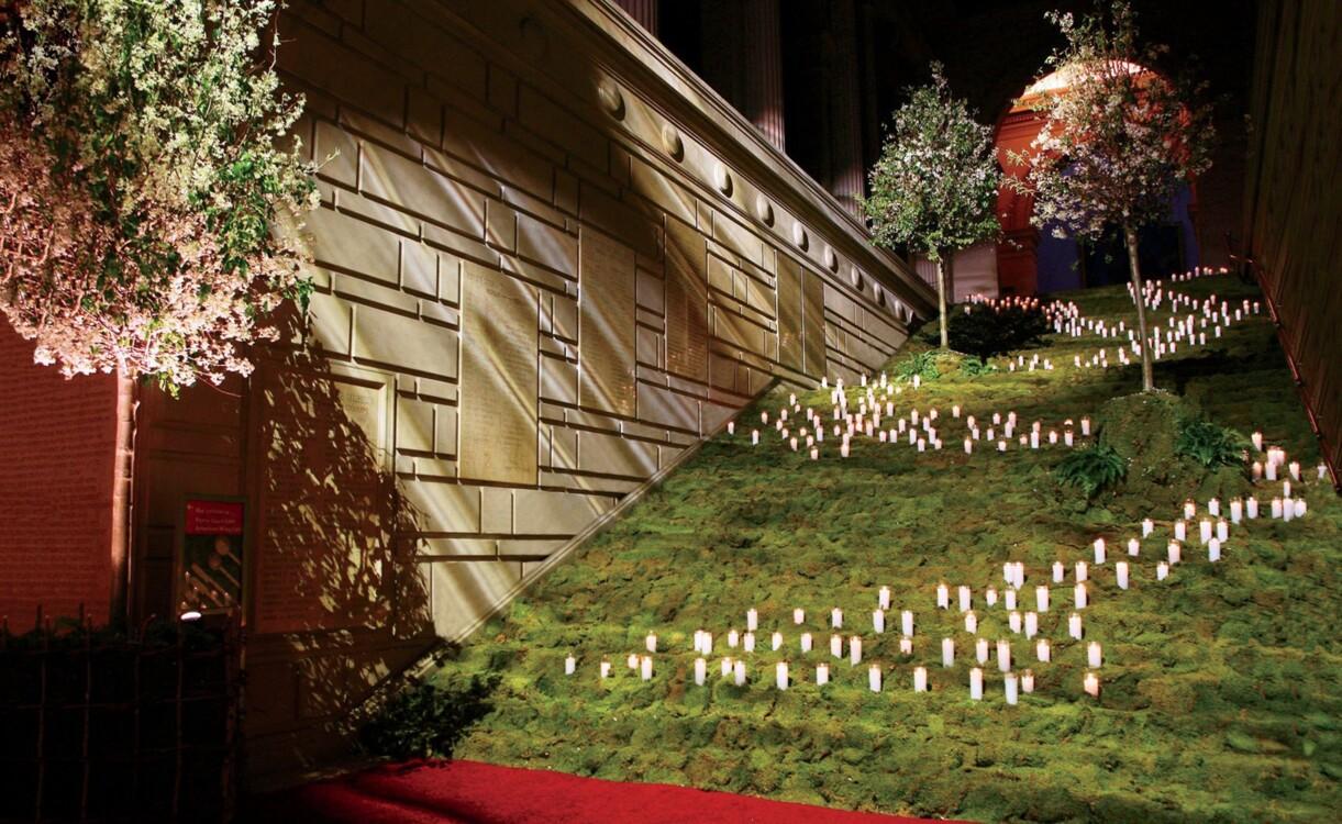 """Met Gala 2006: """"Англомания: Традиция и трансгрессия британской моды""""."""