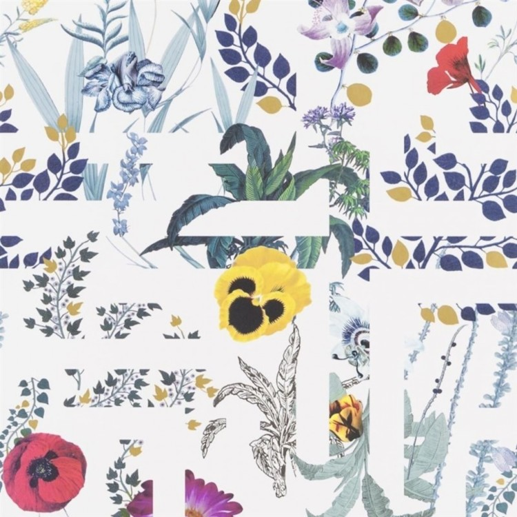 Обои Primavera Labyrinthum Perce Neige Wallpaper, Christian Lacroix