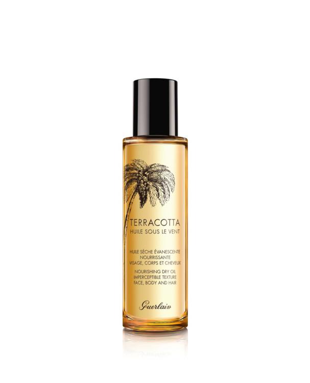 Сухое питательное масло для волос и тела Terracotta Huile Sous Le Vent, Guerlain