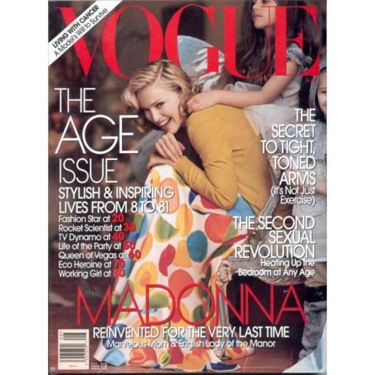 Vogue US, август 2005