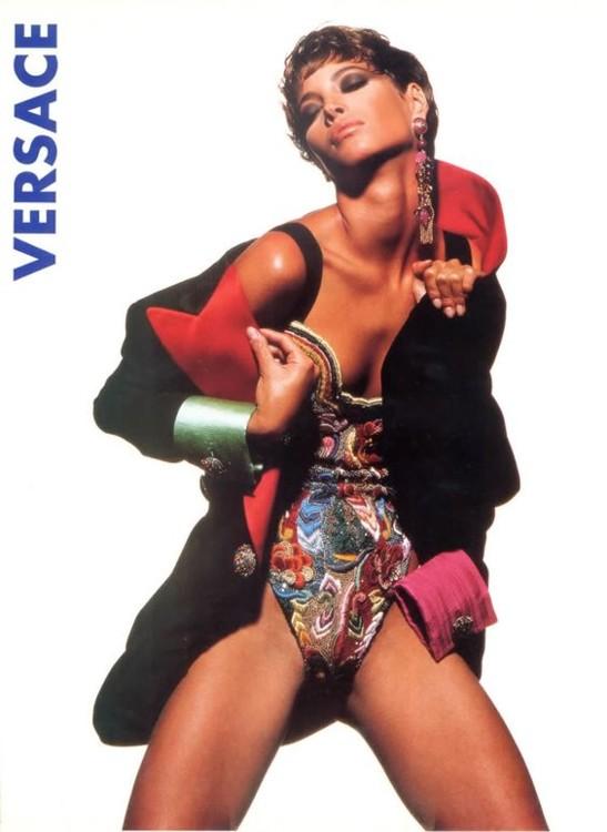 Atelier Versace осень-зима 1990/1991