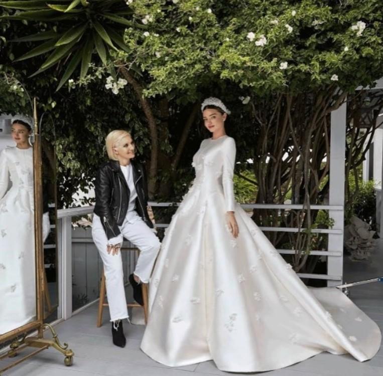 Миранда Керр в Christian Dior Haute Couture