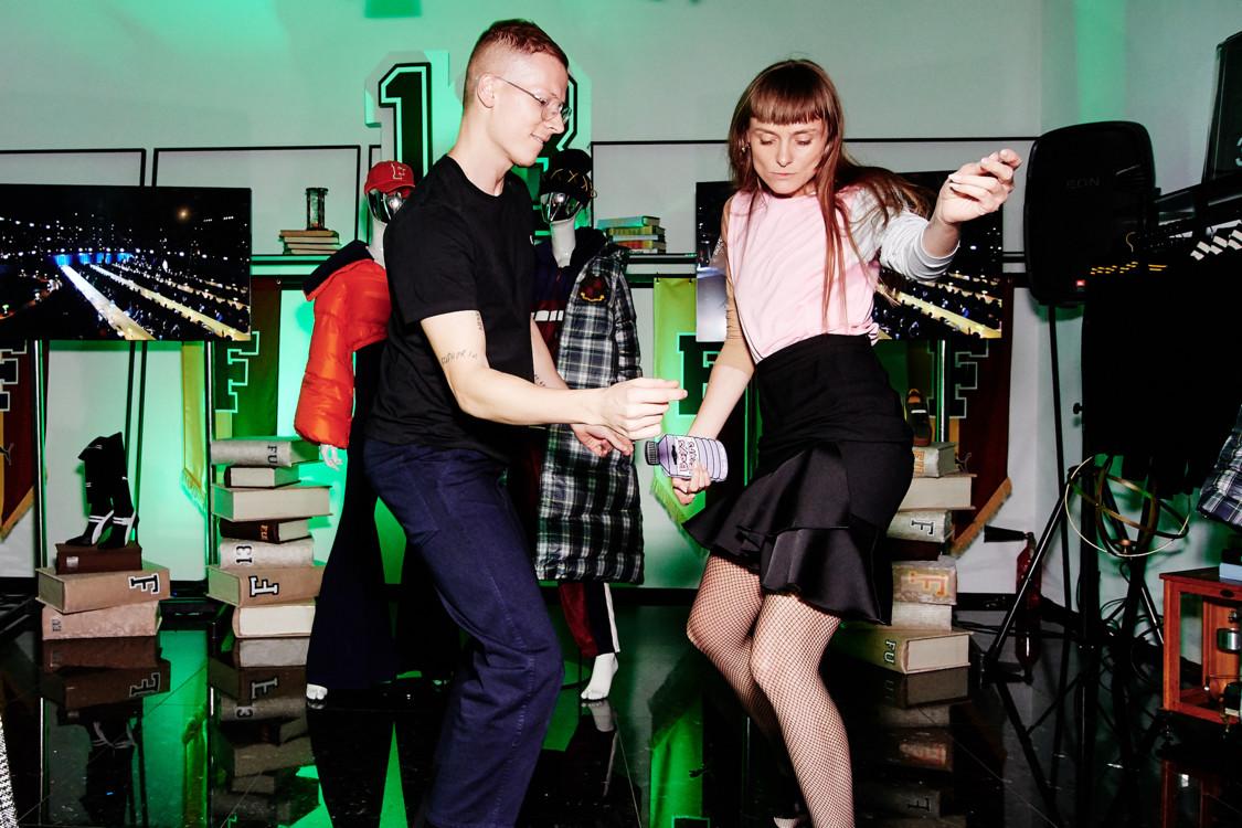 Веня Брыкалин и Юлия Хромцова