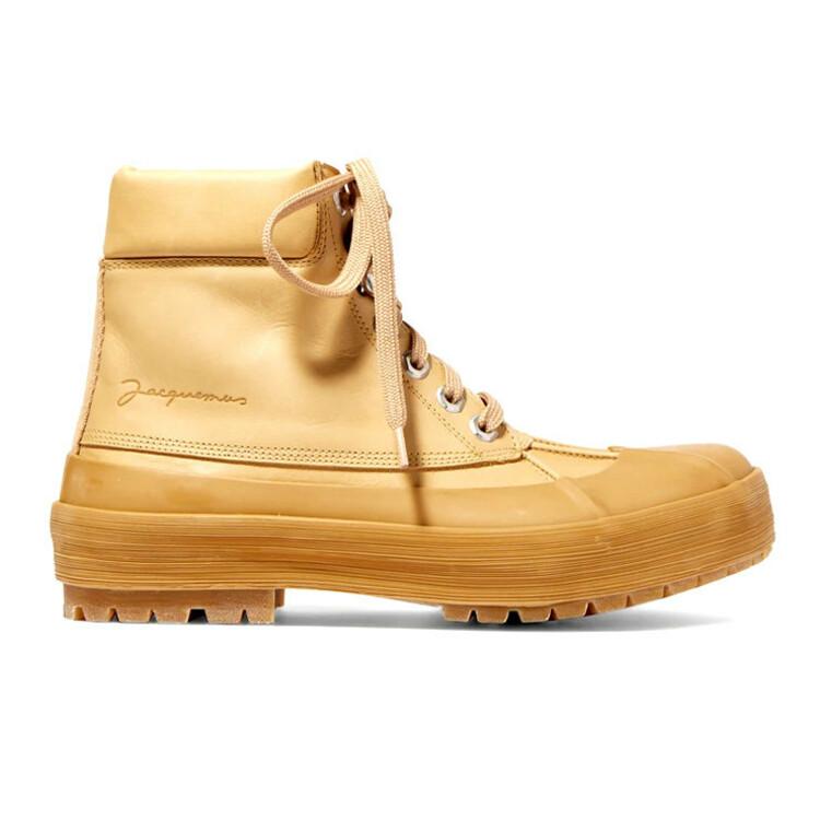 Что такое duck boots и как их носить осень 2020 фото