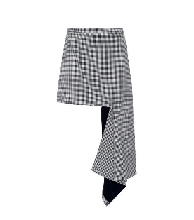 Шерстяная юбка Balenciaga