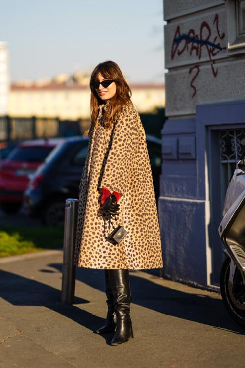 Леопардовый принт стритстайл фото примеры осень 2020 фото
