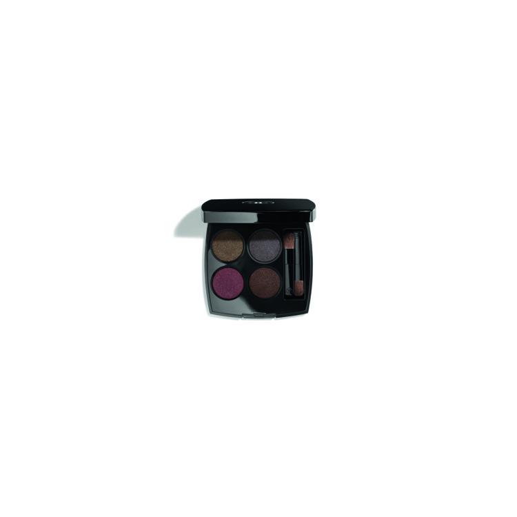 Четырехцветный набор теней Les 4 Ombres №332 Noir Suprême, Chanel, лимитированный выпуск