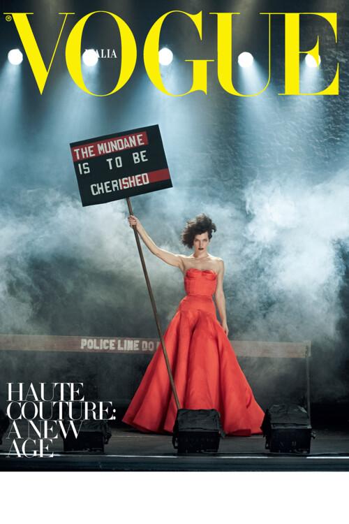 Vogue Italy, сентябрь 2012