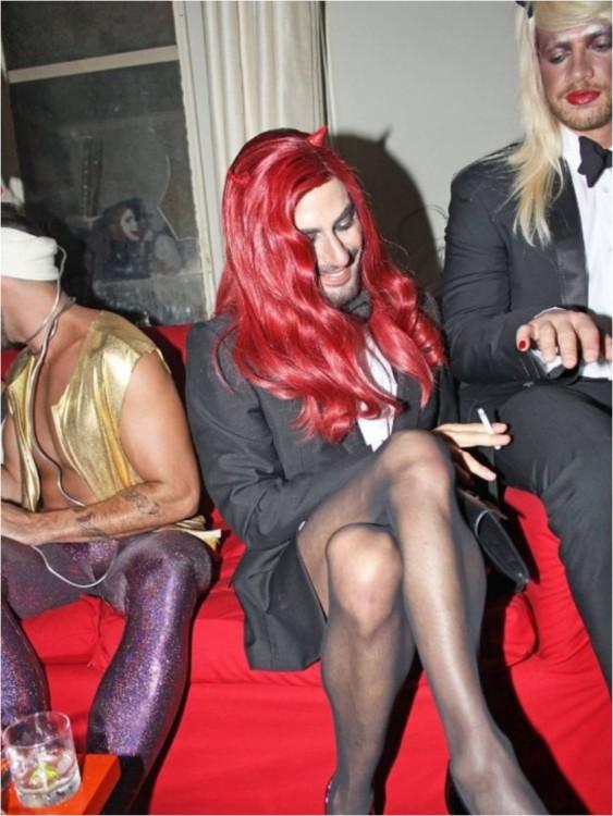 Марк Джейкобс в костюме Дьяволицы в гостинице Джейн, Нью-Йорк, 2010