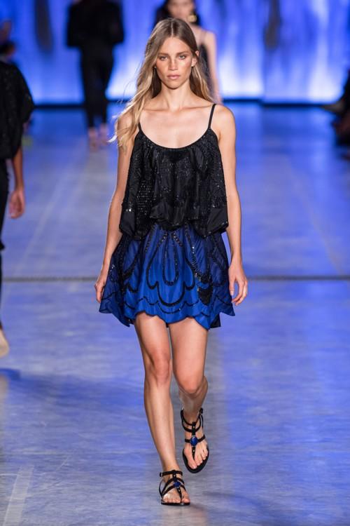 Градиентное платье Alberta Ferretti