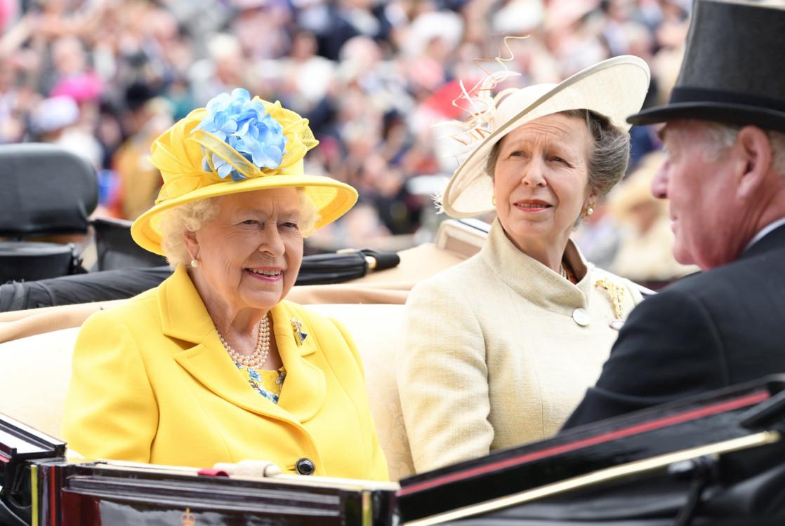 Королева Єлизавета Друга і принцеса Анна