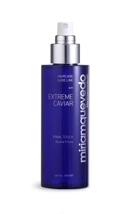 Спрей для фіксації з екстрактом чорної ікри Extreme Caviar Final Touch, Miriam Quevedo