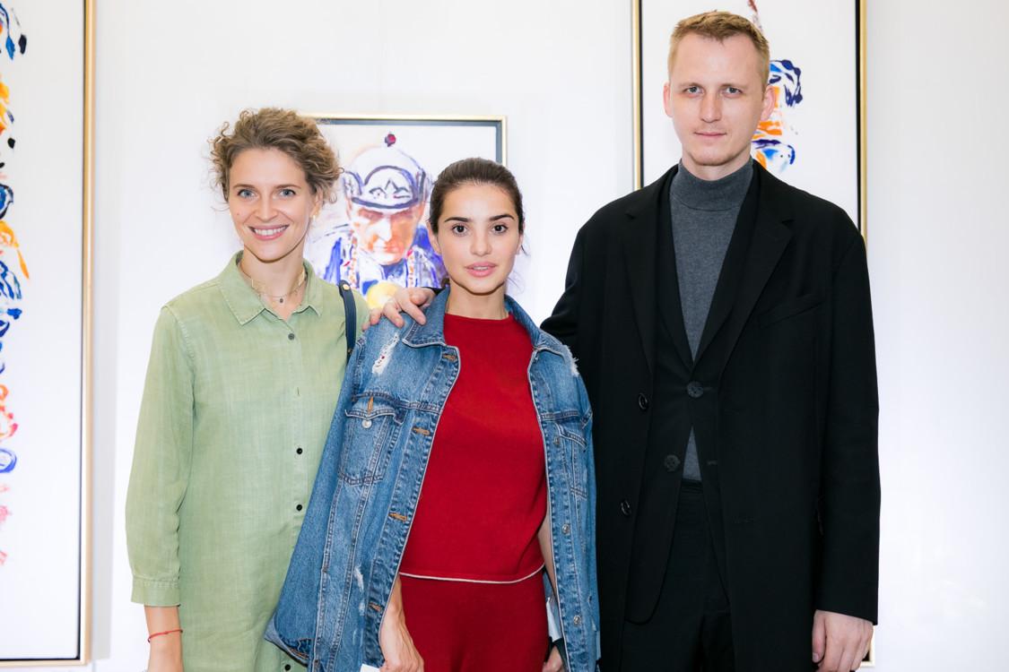 Валерия Гузема, Фаина Тедеева, Артем Климчук