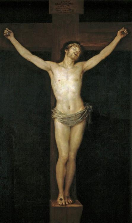 «Распятый Христос», 1780 (Национальный музей Прадо, Мадрид)