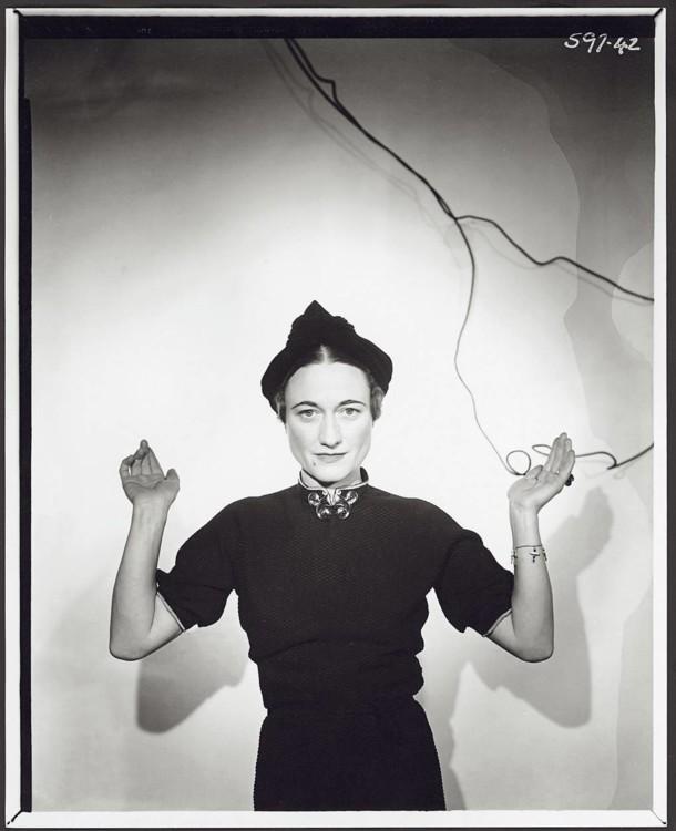 Місіс Волліс Сімпсон, 1936 рік, фото зроблено за рік до того, як вийшла вона заміж за Едуарда, принца Уельського і стала герцогинею Віндзорською