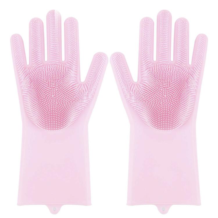 Силиконовые перчатки для мыться посуды