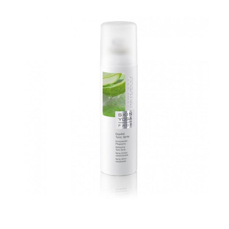 Тоник-спрей Skin Yoga Face, Artdeco, с  зеленым чаем и экстрактом граната и лотоса