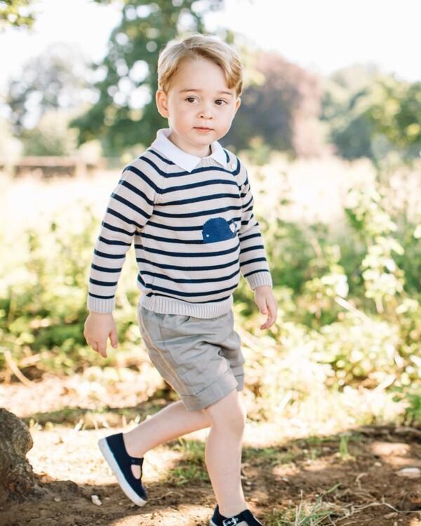 Принц Джордж Кембриджський, 2016