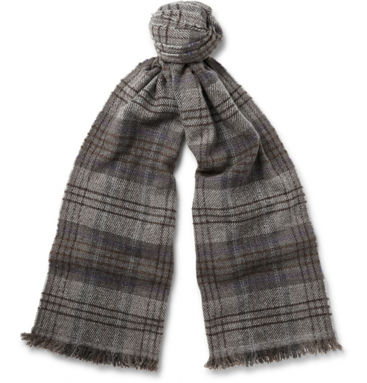 Кашемировый шарф, BRUNELLO CUCINELLI
