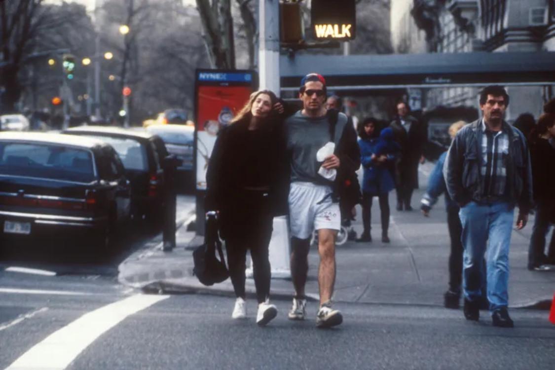 Джон Фицджеральд Кеннеди-младший и Кэролин Бессетт-Кеннеди в Нью-Йорке, 1996 год