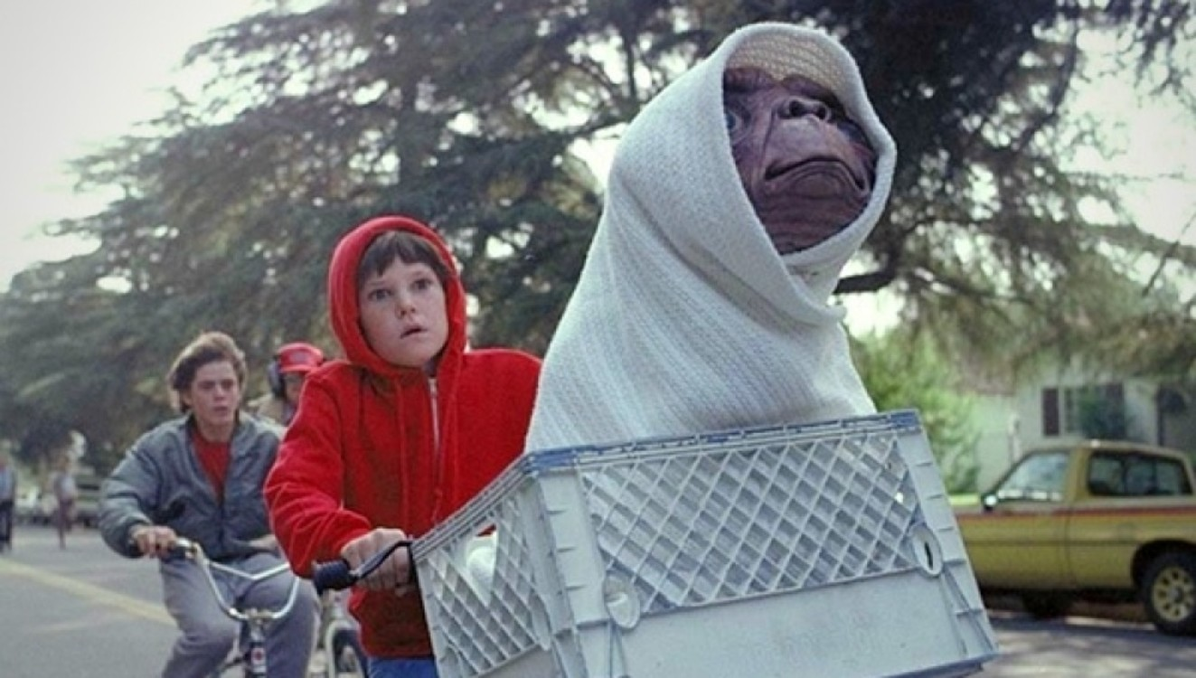 """Кадр из фильма """"Инопланетянин"""", 1982"""