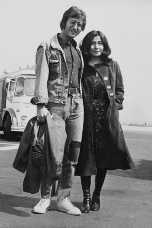 Джон Леннон и Йоко Оно, 1970