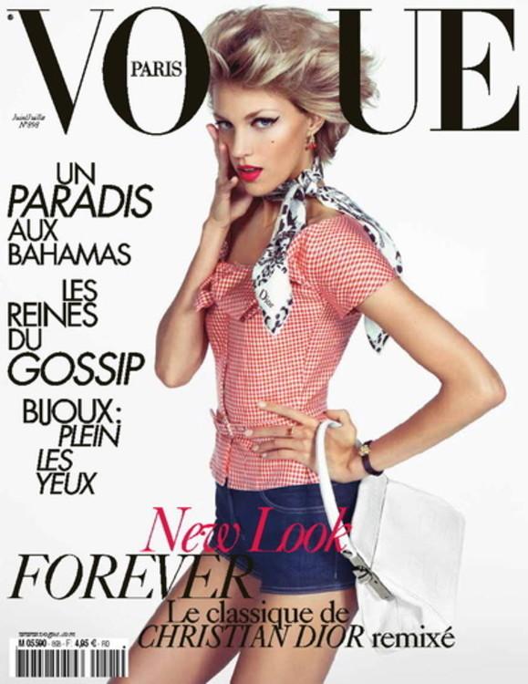 Аня Рубик, Vogue Paris, июнь / июль 2009