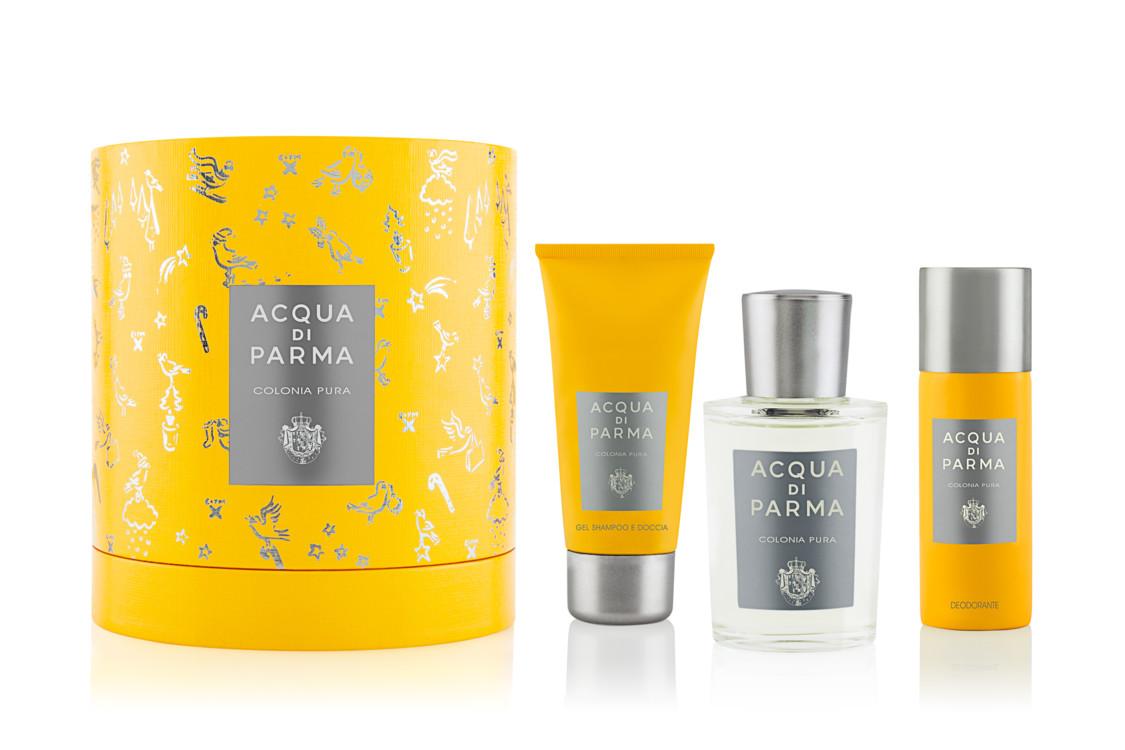 Набор Colonia Pura из парфюма, геля для душа и дезодоранта-спрея, Acqua di Parma