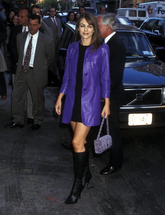 Элизабет Херли на мероприятии Estee Lauder, 1997