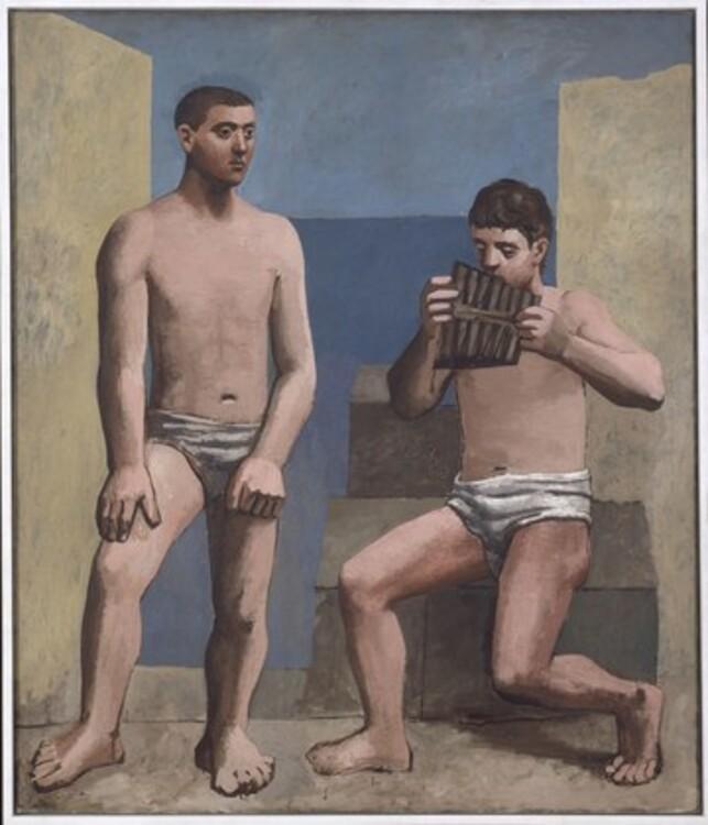 Пабло Пикассо, La Flûte de Pan Antibes, 1923 год