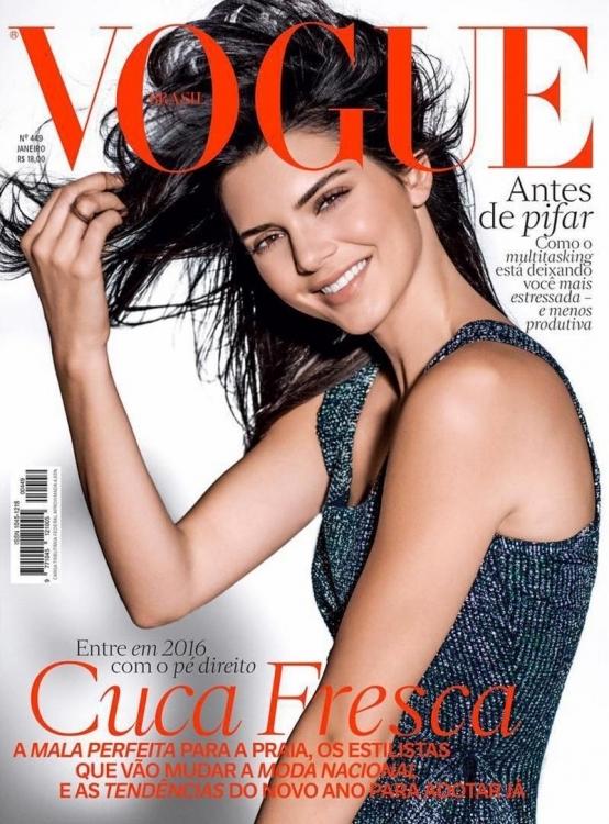 Vogue Brasil, январь 2016