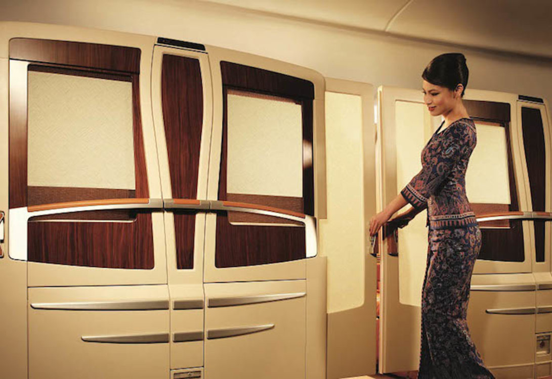 Business-класс, Singapore Airlines
