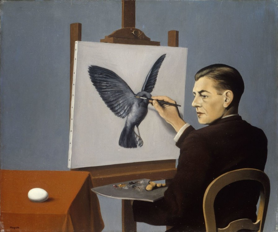 """""""Ясновидение (Автопортрет)"""", 1936, Чикагский институт искусств"""