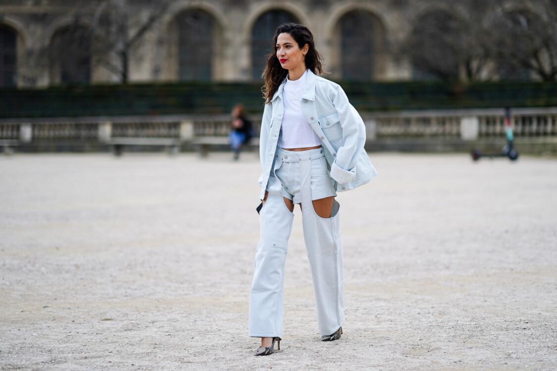 С чем носить белые джинсы стритстайл фото лето 2020 фото