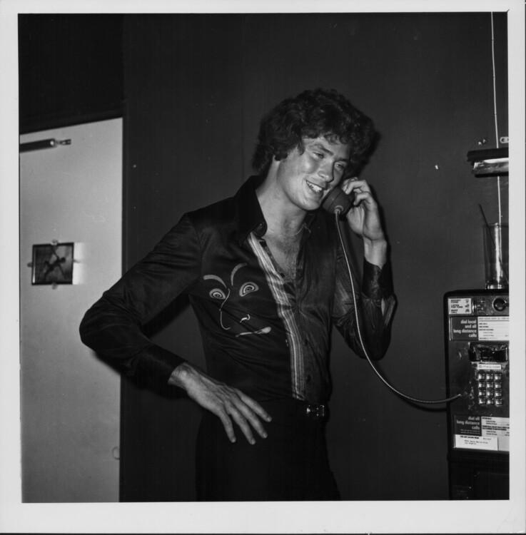 Дэвид Хассельхофф, 1976