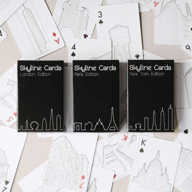 Игральные карты Skyline