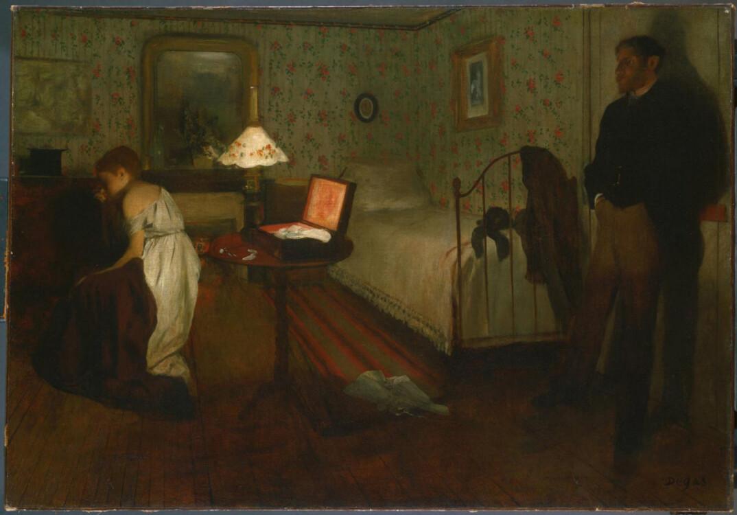 «Интерьер (Насилие, Изнасилование)», 1869