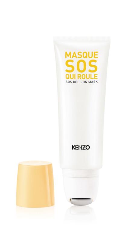 Освежающая несмываемая маска SOS Roll-On Mask, KenzoKi
