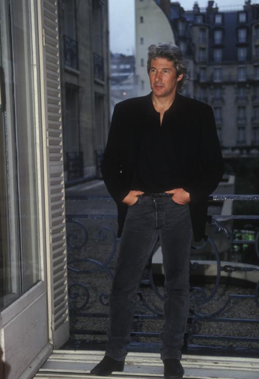 Ричард Гир в отеле Ritz в Париже, 1994