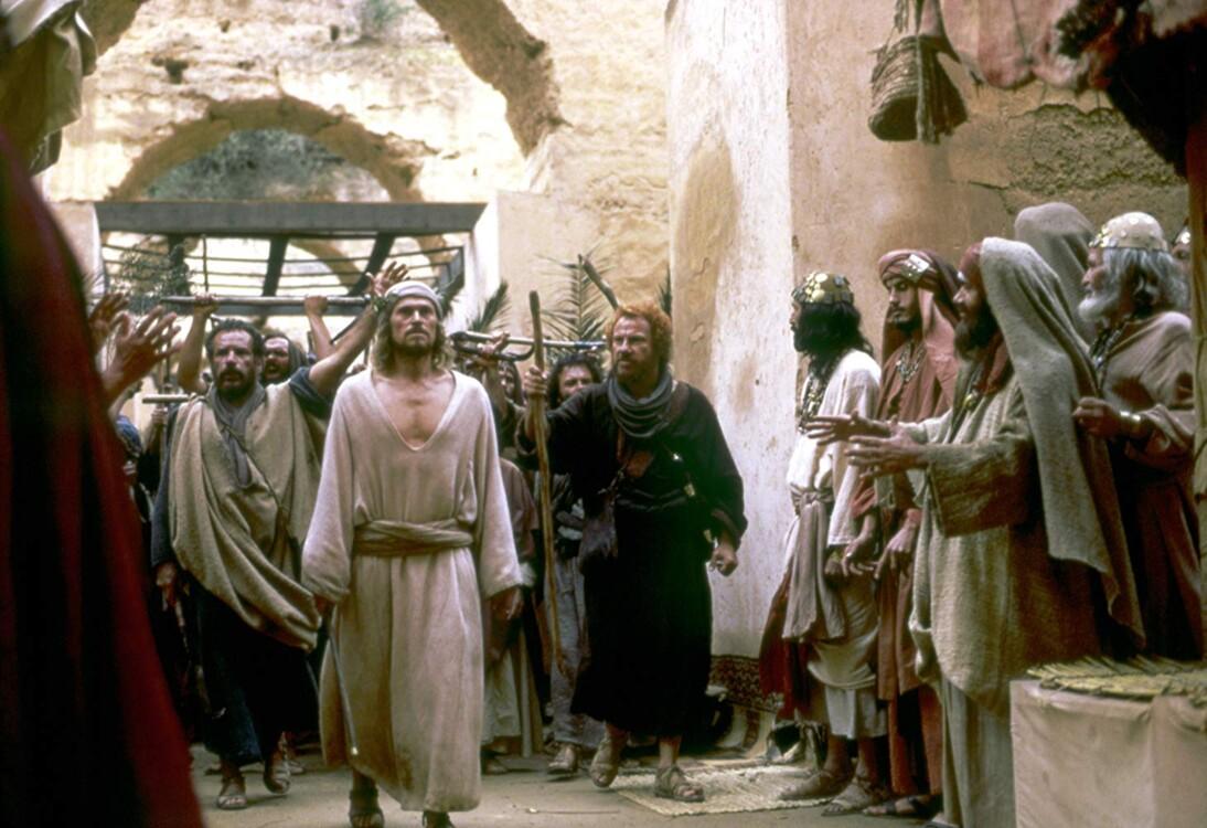 Кадр з фільму «Остання спокуса Христа», 1988