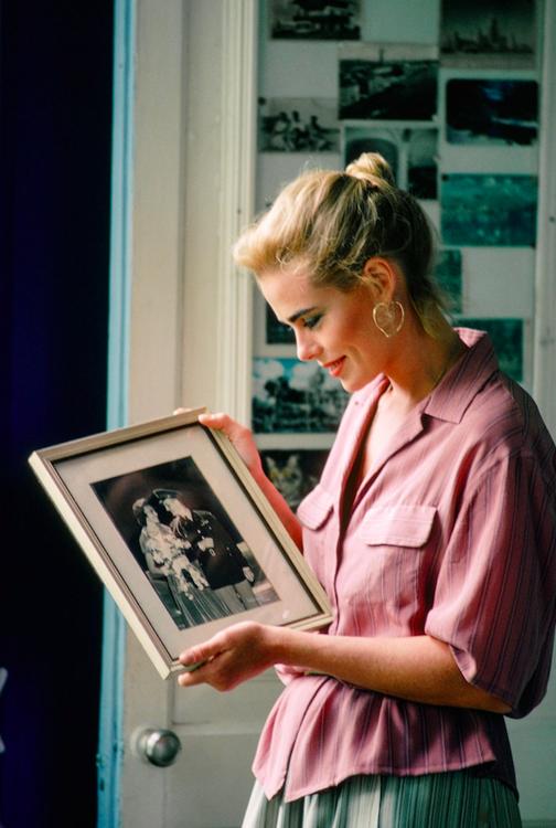 Марго Хемингуэй в доме своего деда Эрнеста Хемингуэя в Гаване в 1978 году