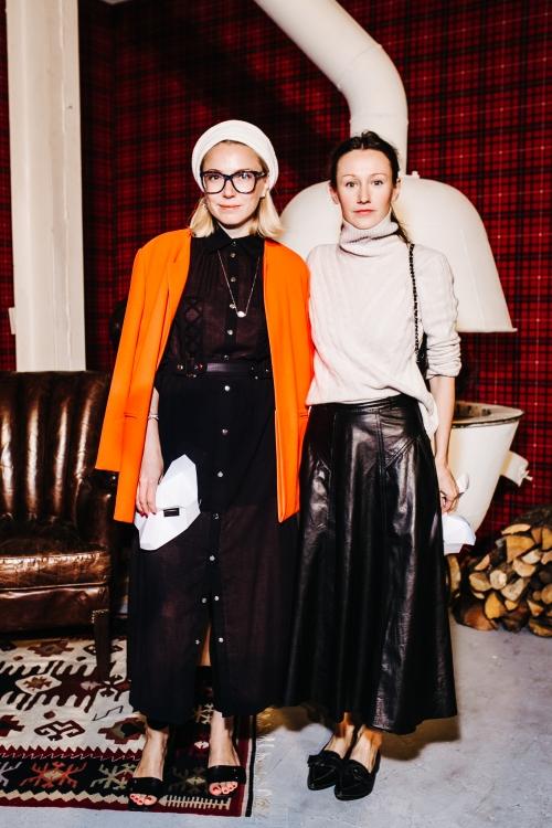 Ирина Каравай и Василина Врублевская